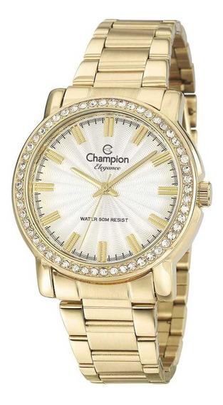Relógio Bright Elegance Champion Original Cn27250w+semi Joia