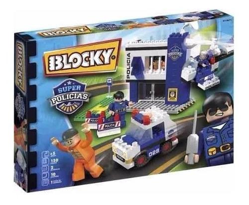Blocky Super Policias 2 Comisaria 150 Piezas