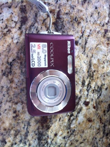 Maquina Nikon Coolpix Completa