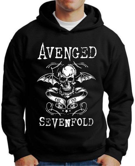 Blusa Moletom Personalizada Avenged Sevenfold
