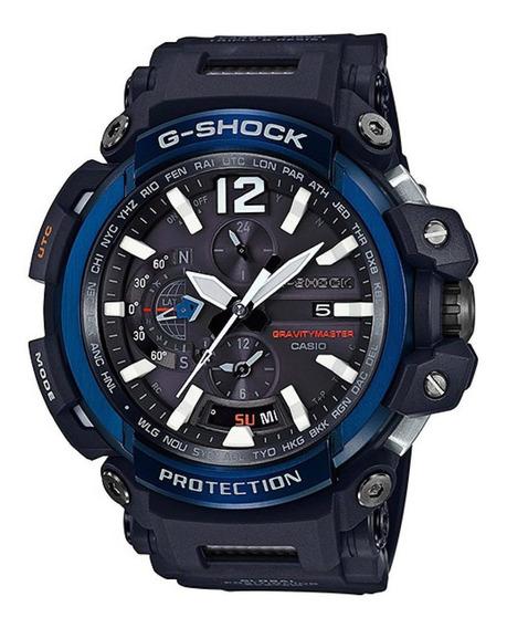 Reloj G-shock Hombre Negro Gpw-2000-1a2dr