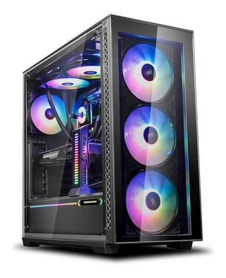 Gabinete Deepcool Matrexx 70 Vidrio Templado 3 Coolers Argb