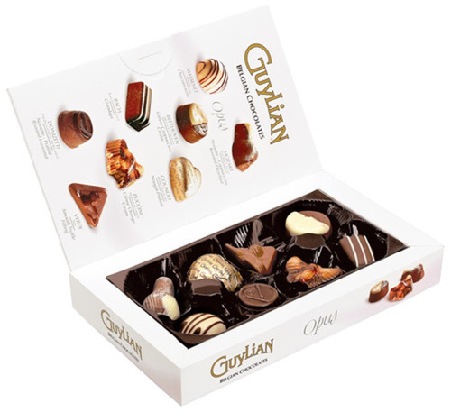 Chocolate Belga Guylian Opus  Recheio Avelã Praliné 90g