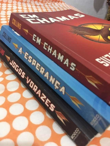 Trilogia De Livros Jogos Vorazes