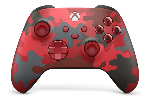 Imagen 1 de 3 de Control joystick inalámbrico Microsoft Xbox Wireless Controller Series X|S daystrike camo special edition