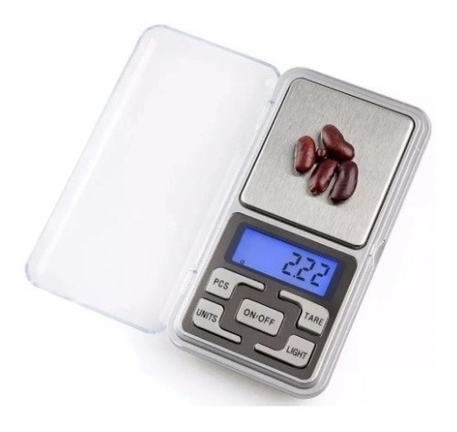 Balanza Precision Joyero 0,1g 500g Retroiluminada