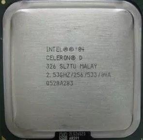 Processador Intel Celeron D 326 2.53ghz (frete R$ 12,00)