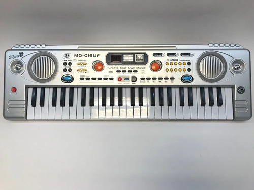 Organeta Piano Teclado Mq-o16uf Juguete Para Niño Y Niña