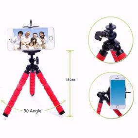 1x Tripé Flexível Gopro iPhone TriPod Suporte Camera Selfie