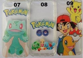 Capa Case Capinha Tpu Anti Impacto iPhone 5 5s Se Pokemon Go