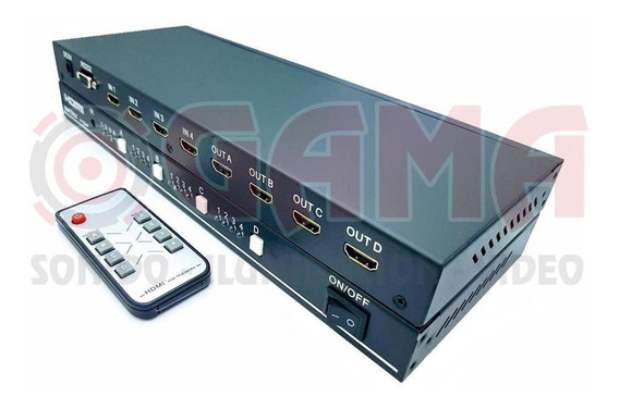 Matrix Hdmi 4x4 Cp05-02-001 Cuazar 17001760