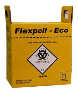 10x Caixa Coletora Material Perfurocortante 3 Litros