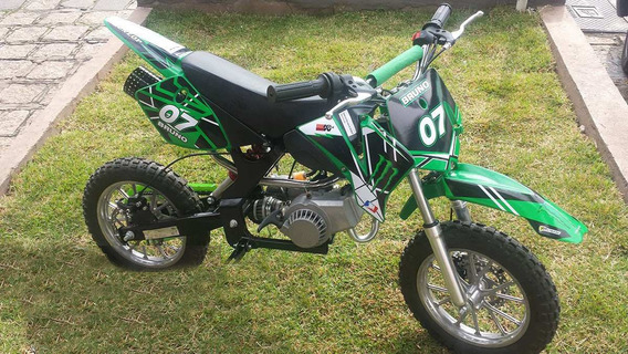 Mini Moto Cross St-db49h - Verde