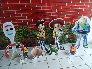 Toy Story Figuras Pack 11 Pzas Y Marco Para Selfie