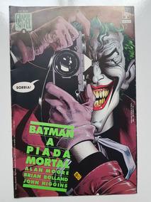 Batman A Piada Mortal Alan Moore Graphic Novel 5 Abril 1º Ed
