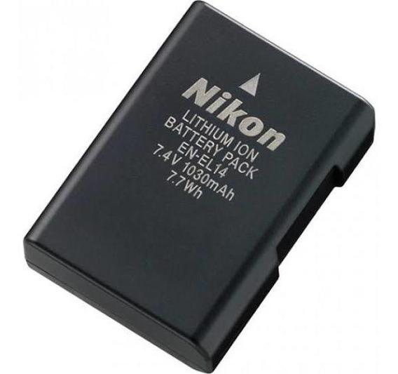 Bateria En-el14 Câmeras Nikon Dslr D3100 D3200 D3300 D5200