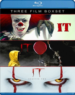 It Chapter 2 Bluray Trilogia Latino