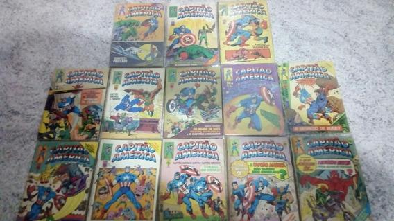 Capitao America - Lote Com 146 Ediçoes- 2,5,7 E 9 No Lote