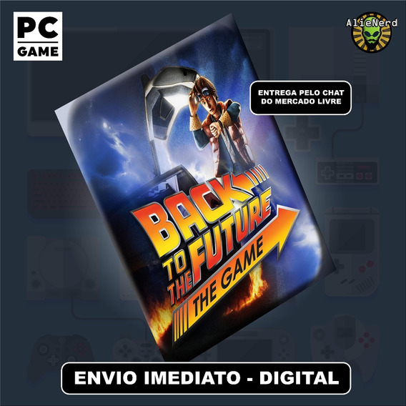 Back To The Future The Game - Pc - Mídia Digital