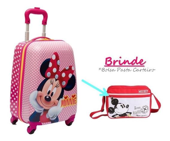 Malinha Escolar Minnie 2019 - Original Disney + Brinde