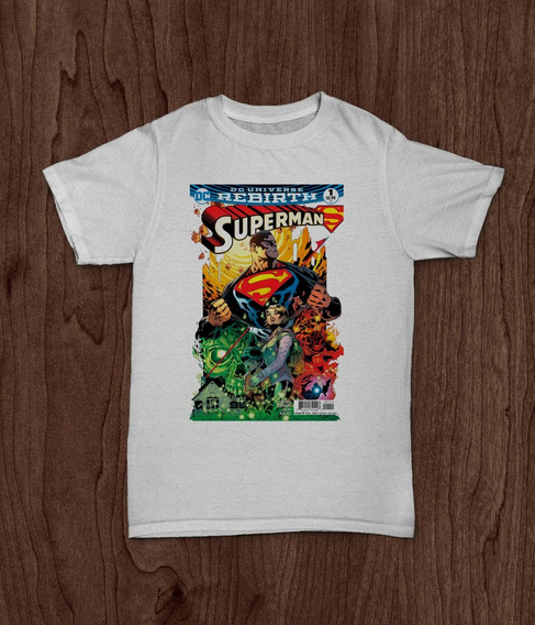 Remera Superman Portada