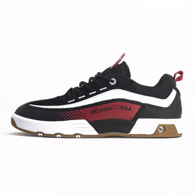 Tenis Masculino Dc Shoes Legacy 98 Slim Black/red Original