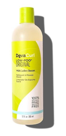Shampoo Deva Curl Low Poo Original Para Cabello Rizado Rulos