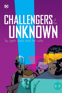 Challengers Of The Unknow Hc- Dc Comics - Robot Negro