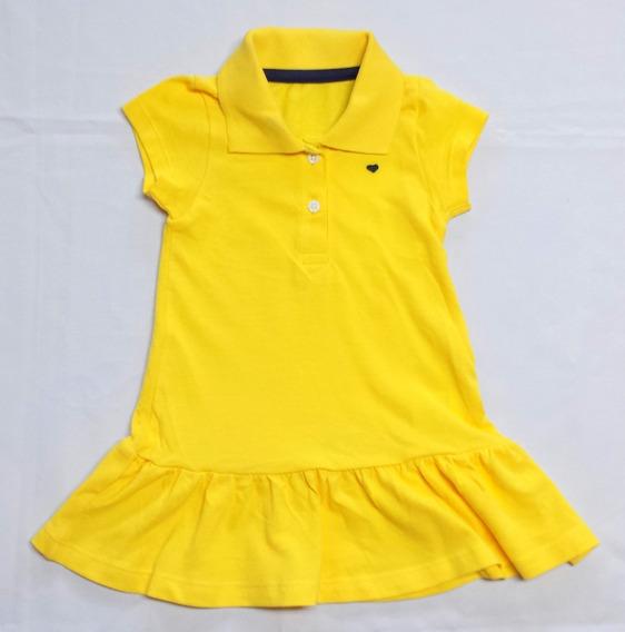 Vestido Infantil Em Malha Piquet Da Hering - Cód. 2608