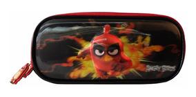 Estojo 5d Angry Birds Pol Preto