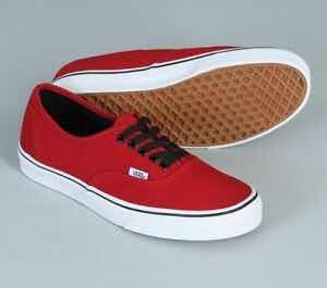 Zapatillas Vans Authentic Chilli Pepper Black