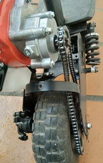Patinete Motorizado Motor 52cc E Caixa De Transmissão Zeros