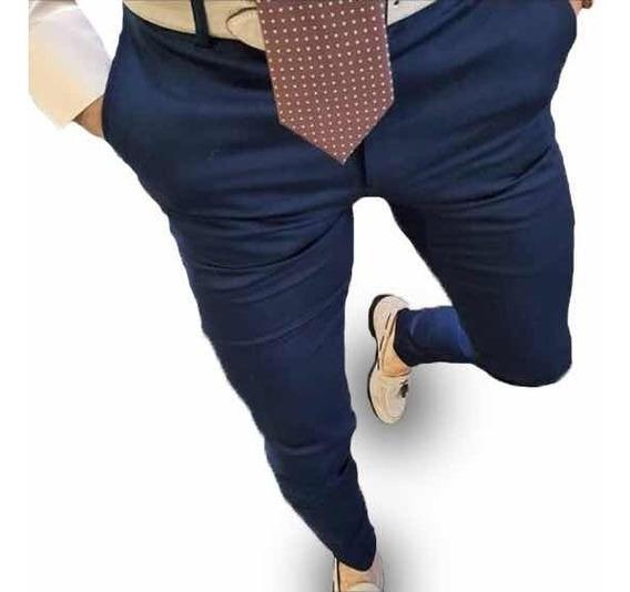 Pantalón Extra Chupin Chino Gabardina