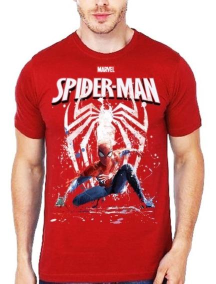 Envío Gratis Playera Spider Man Verse Juego Pelicula Home