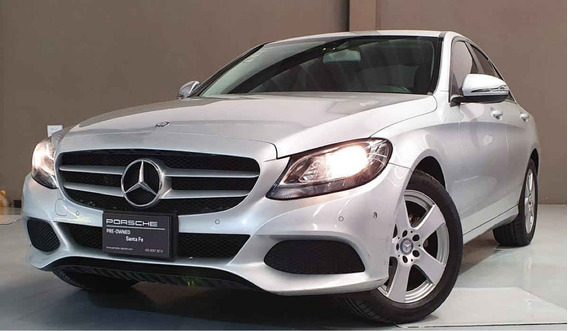 Mercedes-benz Clase C 2017 4p C 180 L4/1.6/t Aut