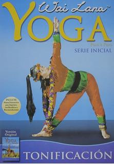Dvd Yoga Wai Lana Serie Inicial Tonificación Nvo Castellano
