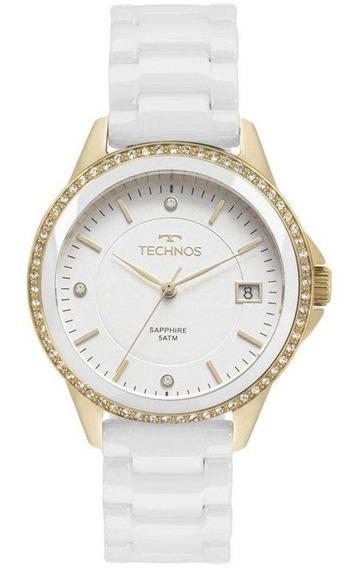 Relógio Technos Feminino Cerâmica 2315kzs/4b