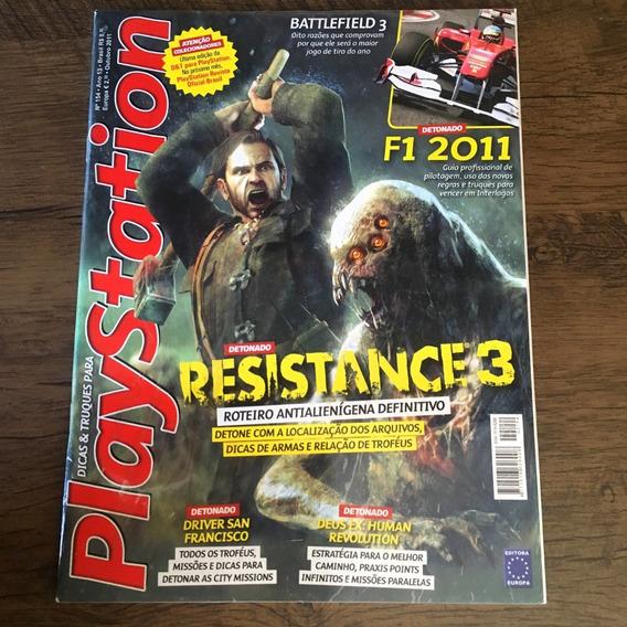 Lote - 9 Revistas Dicas & Truques Para Playstation