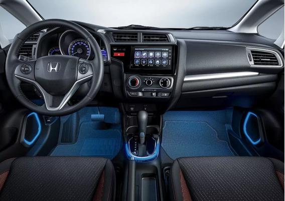 Iluminação Dos Alto Falantes Honda Fit Wrv 2017/2019