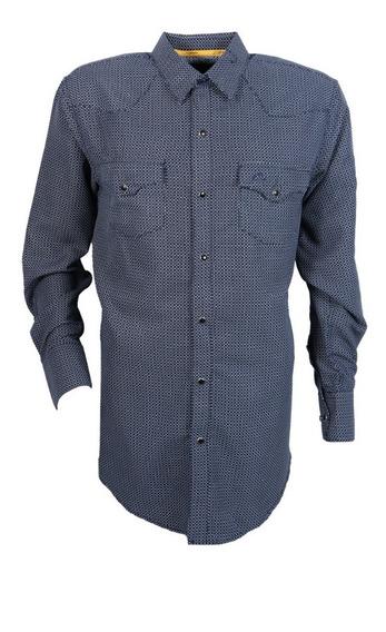 Camisa Vaquera Icy Denver Chh052 Azul