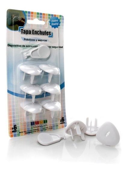 Baby Innovation Tapa Enchufes Seguridad Bebe - Pañalera Arenita