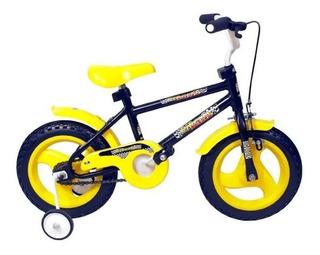 Bicicleta Infantil Rodado 12 Con Rueditas Liberty @ Mca