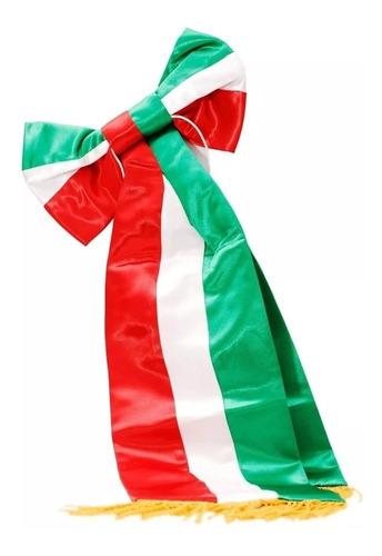 Imagen 1 de 1 de Moño Para Bandera Kinder ¡envío Gratis!