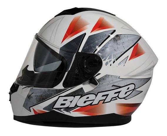 Casco Moto Integral Bieffe By Peels Doble Visor B67 Steel