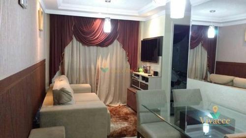 Imagem 1 de 16 de Apartamento Com 2 Dormitórios À Venda, 46 M² Por R$ 210.000,00 - Colônia(zona Leste) - São Paulo/sp - Ap2312