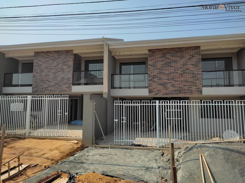 Imagem 1 de 15 de Sobrado Para Venda Em São José Dos Pinhais, Cruzeiro, 3 Dormitórios, 1 Suíte, 2 Banheiros, 3 Vagas - Sjp3395_1-1961188