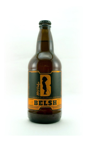 Imagen 1 de 3 de Cerveza Belsh Ipa Belga 500cc