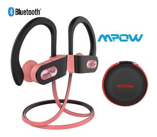 Mpow Rosa Auriculares Bluetooth Ipx7 A Prueba De Agua Sport