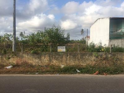 Terreno À Venda, 168 M² Por R$ 40.000 - Mosqueiro - Aracaju/se - Te0026