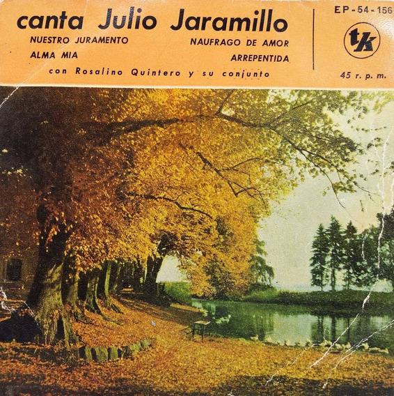 Julio Jaramillo - Naufrago De Amor Disco - Simple Fol@